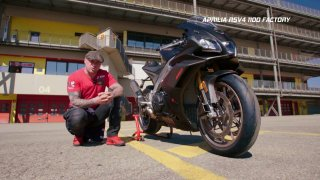 Test motocyklu Aprilia RSV4 1100 Factory