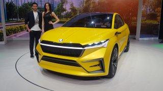 Předobraz elektromobilu budoucnosti Škoda Vision i