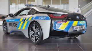 BMW i8 Coupé pro Policii ČR