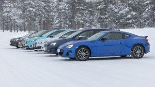 Vozy Subaru testy Rovaniemi