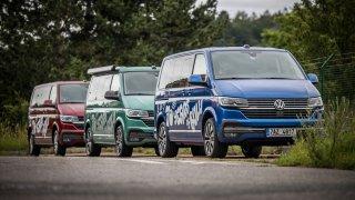 Transporter, Caravelle, Multivan, nebo California? Zde je návod, jak poznat verze víceúčelového VW