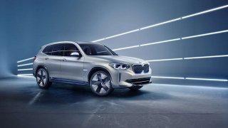 BMW rozšiřuje elektrickou mobilitu o nový Concept iX3