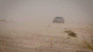 Uvězněn v písku. Kodiaq bojuje o život