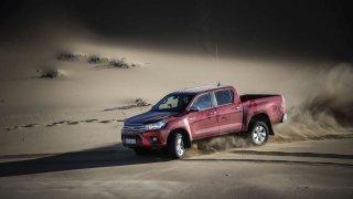 Nezničitelný pracant - Toyota Hilux