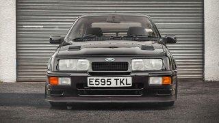 Ford Sierra v provedení RS500, legenda 80. let.