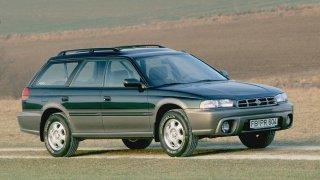 """Subaru je zakladatelem kategorie aut """"offroad kombi"""". Outback se narodil v roce 1994"""
