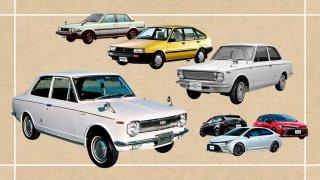 Corolla pokořila hranici 50 milionů prodaných aut. Přišla v době, kdy byla barevná televize luxus