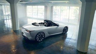 Lexus LC Convertible Concept 4