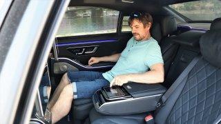 Mercedes S Long pohodlí na zadních sedadlech