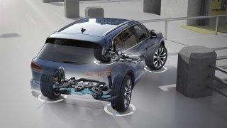 Volkswagen Touareg řízení všech kol