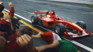 Ojedinělé dílo vydané na počest padesátin Michaela Schumachera