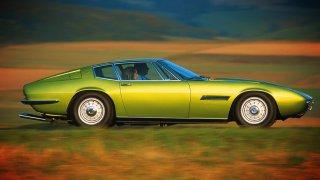 Maserati Ghibli I bylo fastback kupé 2+2 s V8 a vý