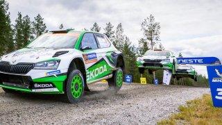 Škoda rallye