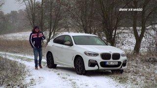Test SUV kupé BMW X4 M40d