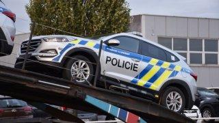Policie předvedla nové vozy Hyundai Tucson. 4
