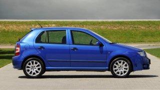 Škoda Fabia první generace v provedení RS.