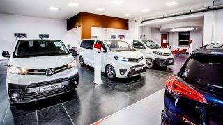 Toyota showroom