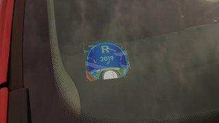 Dálniční známka 2019