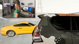 Vyzkoušeli jsme, jak se dá auto změnit za pomoci virtuální reality. Funguje to!