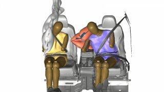 Kia centrální airbag
