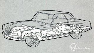 Mercedes 230 SL 8