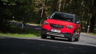 Opel Crossland X jízda 3