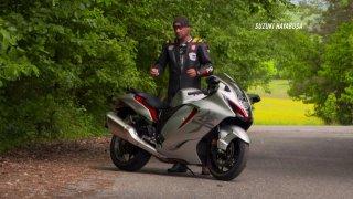 Recenze motocyklu Suzuki Hayabusa