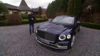 Recenze luxusní limuzíny Bentley Flying Spur First Edition (Repríza)