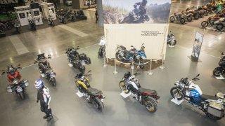 BMW Motorrad ukazuje v Brně flotilu nových modelů
