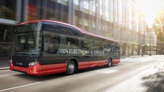 Scania - Nobina - autonomní autobus