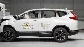 Honda CR-V má pět hvězdiček od Euro NCAP