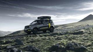 Pro cesty do neznáma - Peugeot Rifter 4x4 Concept