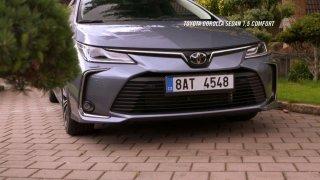 Recenze Toyoty Corolla Sedan 1.5 Comfort Style Tech