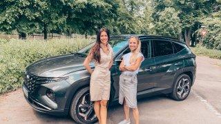 Ženský test Hyundaie Tucson