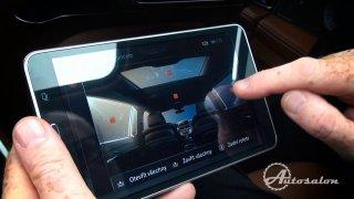 Možnosti ovládání skrze tablet BMW 760 Li M Perfor