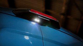 Ford Transit osvětlení za vozem