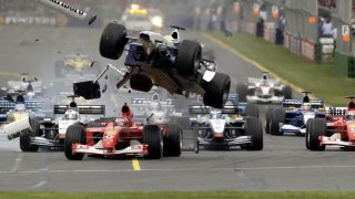 Formule 1 crash