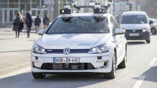 Volkswagen - automatizovaná jízda v Hamburku 2