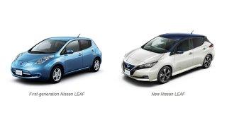 Nissan LEAF 1. generace a 2. generace