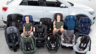 Sháníte kvalitní dětskou sedačku? Rakouský autoklub komplexně otestoval 13 nových výrobků