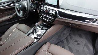 BMW M550d interier  3