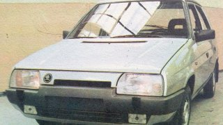 Škoda Favorit prototypy