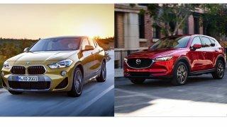 Je lepší ojeté SUV z Německa, nebo z Japonska? Postavili jsme proti sobě BMW X2 a Mazdu CX-5