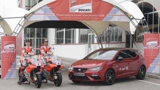 Seat zintenzivňuje svou přítomnost ve světě motoristického sportu. Seat Leon Cupra bude oficiálním vozem týmu Ducati.