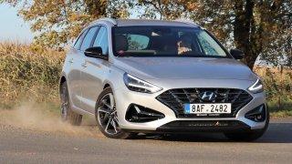 Test Hyundaie i30 kombi 1.6 CRDi po faceliftu: Příjemný konzervativec překvapil coby mistr okresek