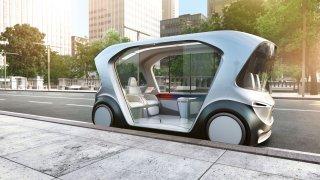 Bosch koncept vozu kyvadlové dopravy CES 2019 1