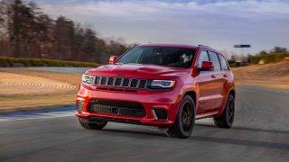 Jeep Grand Cherokee Trackhawk, nejrychlejší SUV za