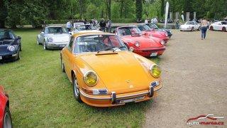 Podívejte se na auta zluxusního srazu Porsche vLiblicích