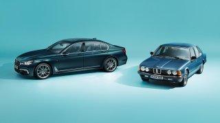 BMW slaví 40 let luxusní řady 7 speciální narozeninovou edicí