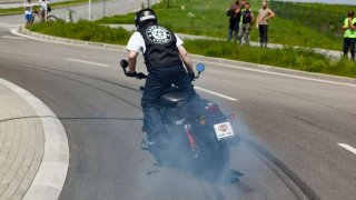 Harley-Davidson rekord v gumování pneumatik